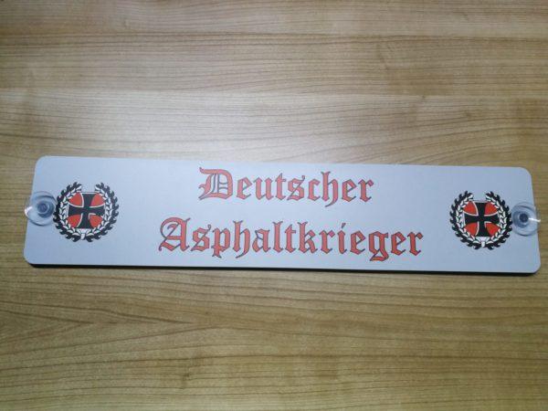 Deutscher Asphaltkrieger LKW