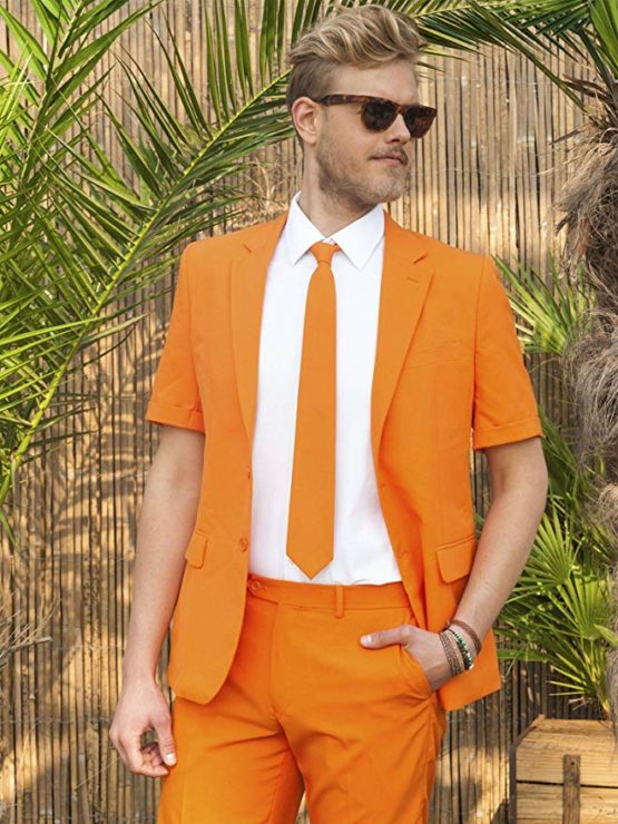 Opposuits Sommeranzüge für Herren in verschiedenen Drucken – besteht aus Sakko, Hose und Krawatte