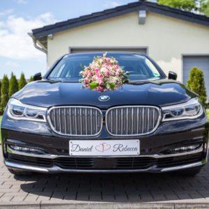 Autoschmuck Hochzeit Kennzeichen