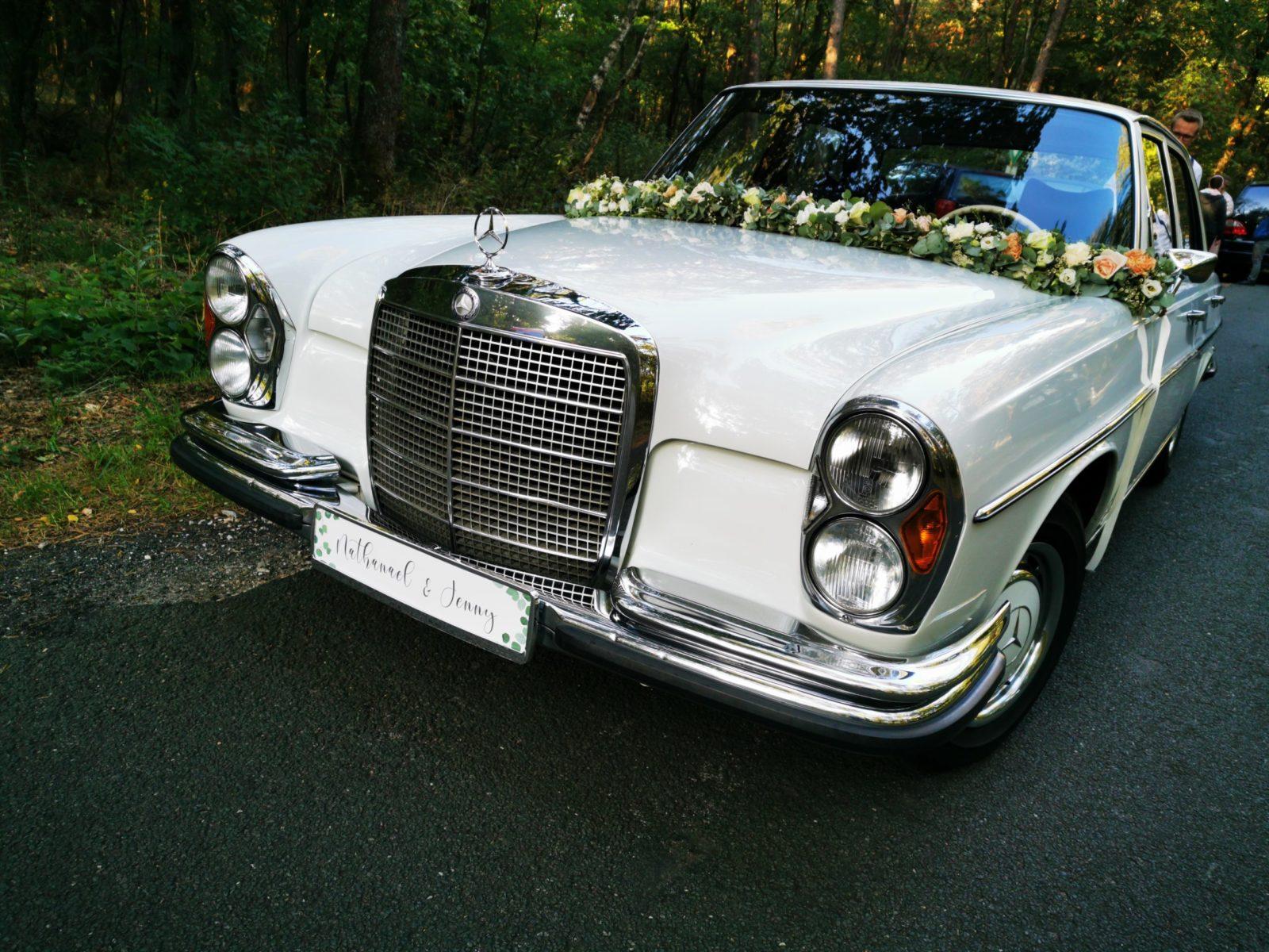 Deko für Hochzeit – Kennzeichen für Hochzeitsauto