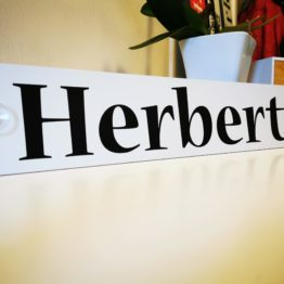 LKW Namensschilder - Herbert