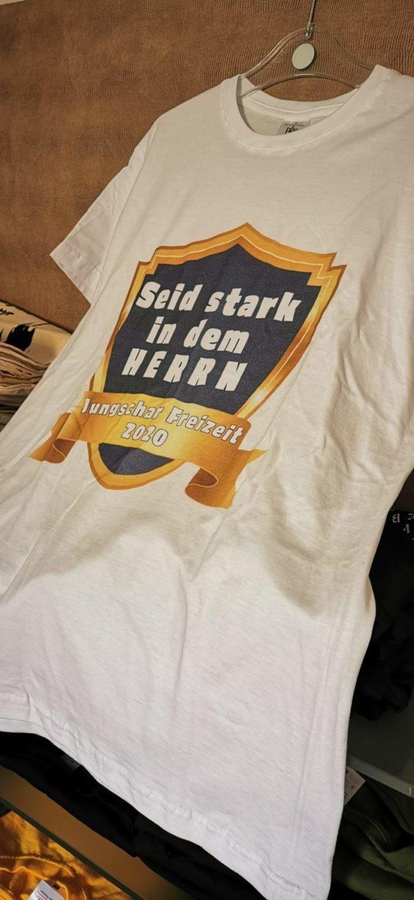 Jungschar Freizeit T-Shirts